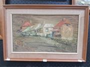 Sale 8762 - Lot 2094 - Janine Bravery - Windsor oil on board, 39 x 58cm (frame), signed lower right