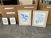 Sale 9045 - Lot 2052 - Group of (4) Peter Longhurst prints, each edition and signed (framed/various sizes)