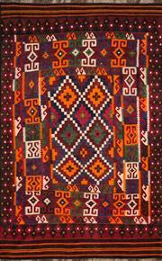 Sale 8321C - Lot 93 - Persian Kilim 212cm x 180cm RRP $1200