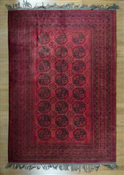 Sale 8653C - Lot 30 - Vintage Afghan Qunduzi 300cm x 200cm