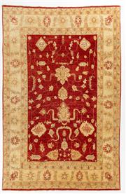 Sale 8770C - Lot 68 - An Afghan Chobi (Natural Dyes) Wool The Rug Is Most Suitable To Australian Interior, 314 x 202cm