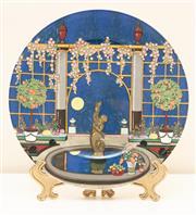 Sale 8855H - Lot 79 - Villeroy and Boch Jardine porcelain plate, Diameter 30.5cm
