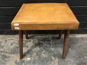 Sale 8988 - Lot 1065 - Vintage Australian Footstool (h:42cm)