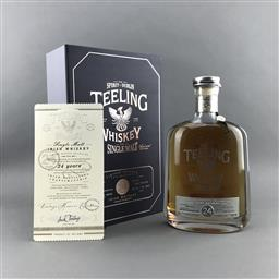 Sale 9120W - Lot 1461 - The Teeling Whiskey Co. 24YO Single Malt Irish Whiskey - winner of 'Worlds Best Single Malt' at 2019 World Whisky Awards, bottled 08.