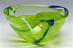 Sale 9148 - Lot 39 - A Kosta Boda art glass bowl (D:15cm)