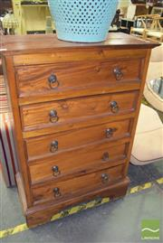 Sale 8390 - Lot 1258 - Chest of 5 Drawers