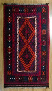 Sale 8717C - Lot 56 - Afghan Kilim 186cm x 105cm