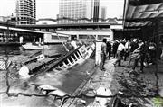 Sale 8721A - Lot 82 - Artist Unknown - Karrabee Ferry sinking in Sydney Harbour, NSW 1984 20 x 25cm