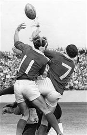Sale 8754A - Lot 21 - NSW vs Ireland, Irish Rugby Union Tour of Australia, Sydney Sports Ground, 6 May 1967 - 30 x 20cm