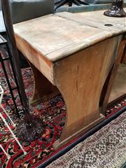 Sale 8777 - Lot 1029 - Timber School Desk