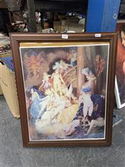 Sale 8981 - Lot 2092 - Norman Lindsay Print