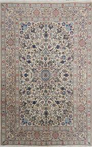 Sale 8321C - Lot 95 - Persian Nain 288cm x 190cm RRP $4000