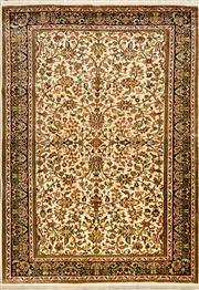 Sale 8418C - Lot 62 - Kashmiri Silk 184cm x 129cm