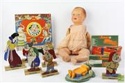 Sale 8490 - Lot 357 - Toy Collection Including Early Doll And Snow White