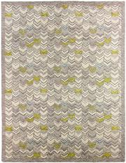 Sale 8536A - Lot 65 - A Modern Scandi Design Natural Handspun Wool Carpet India 403cm x 302cm RRP $3,800.00