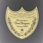 Sale 8660 - Lot 783 - 1x 2006 Moet et Chandon Cuvee Dom Perignon Brut, Champagne - in box
