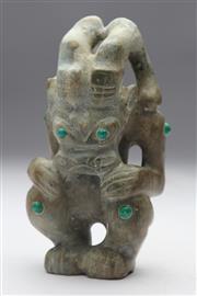 Sale 8667 - Lot 73 - Carved Stone Figure