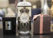 Sale 8709 - Lot 1079 - A Gucci candle in box together with a Jo Malone example and a Voluspa gardenia scented candle