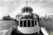 Sale 8721A - Lot 83 - Artist Unknown - The Proclaimer (oldest working ferry in Sydney), 1984 18 x 26cm
