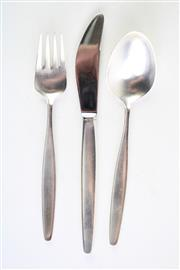 Sale 8840 - Lot 66 - A Georg Jensen Childs Cutlery Setting