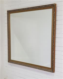 Sale 9191 - Lot 1086 - Large gilt framed mirror (h:137 x w:152cm)