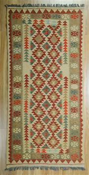 Sale 8643C - Lot 18 - Persian Kilim 210cm x 106cm