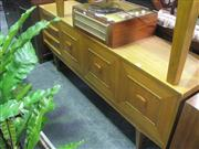 Sale 7943A - Lot 1505 - Stonehill Timber Sideboard with 2 Doors & 3 Drawers