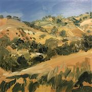 Sale 8336A - Lot 6 - Leisl	Mott - Past Sally's Flat Oil on board 64 x 64 cm