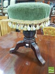 Sale 8428 - Lot 1046 - Victorian Mahogany Piano Stool