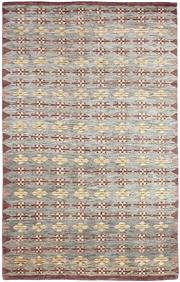 Sale 8536A - Lot 67 - A Modern Scandi Design Natural Handspun Wool Carpet India 245cm x 154cm RRP $1,200.00