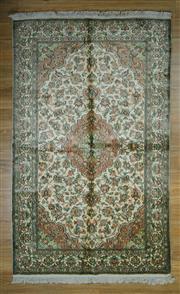 Sale 8643C - Lot 19 - Super Fine Kashmiri Silk 195cm x 121cm