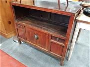 Sale 8672 - Lot 1062 - Oriental 2 Drawer, 2 Door Cabinet