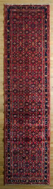 Sale 8680C - Lot 58 - Persian Husseinbad Runner 428cm x 110cm