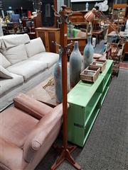 Sale 8740 - Lot 1063 - Oak Coat Stand