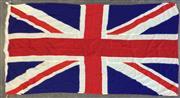 Sale 8801 - Lot 1049 - Vintage Union Jack Flag