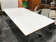 Sale 8822 - Lot 1093 - Confair Wilkhahn Fold Out Office Table on Castors