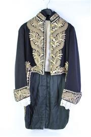 Sale 8877 - Lot 9 - Royal Footmans Coat With Gold Bullion Braid