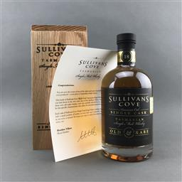 Sale 9120W - Lot 1429 - Sullivans Cove 18YO 'American Oak Single Cask' Single Malt Tasmanian Whisky - barrel no. HH0273, bottle no. 106/173, filled 28/04/