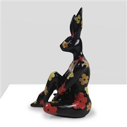 Sale 9154JM - Lot 5012 - GILLIE AND MARC Splash Pop Mini Rabbitgirl resin sculpture 26.5 x 15 x 14 cm signed