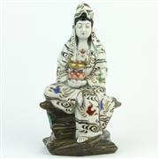 Sale 8356 - Lot 62 - Kutani Figure of a Lady