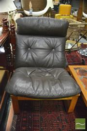 Sale 8383 - Lot 1091 - Pair of Tessa Lounge Chairs