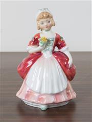 Sale 8486A - Lot 32 - A Royal Doulton figure, Valerie HN 2107