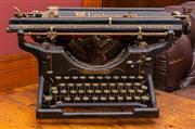 Sale 8625A - Lot 43 - An Underwood typewriter, width 49cm.
