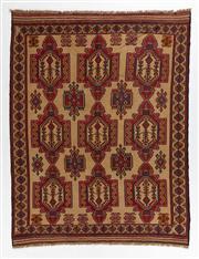 Sale 8770C - Lot 74 - A Persian Sumak Hand Woven Wool, 280 x 190cm