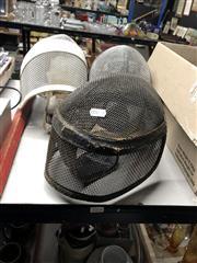 Sale 8801 - Lot 1066 - Three Fencing Masks