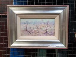 Sale 9127 - Lot 2004 - Richard Chamerski Spring Morning, oil on board, frame: 27 x 37 cm, signed lower left