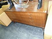 Sale 7943A - Lot 1511 - Good Chest of 8 Drawers - probably G-Plan