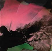 Sale 8336A - Lot 7 - Rochelle Chase - AURORA SHADES 2 Epoxy resinon canvas
