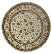 Sale 8418C - Lot 63 - Silk & Wool Round Rug 178cm x 178cm
