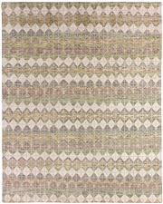 Sale 8536A - Lot 69 - A Modern Scandi Stripe Design Natural Handspun Wool Carpet India 298cm x 242cm RRP $2,300.00